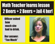 Math Teacher busted for DWI graphic